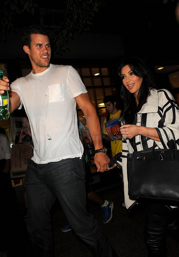 Kris Humphries and Kim Kardashian in NYC.