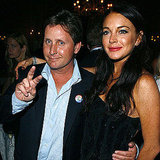 Emilio Estevez and Lindsay Lohan showed up at the afterparty for Bobby in 2006.