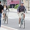 Justin Timberlake and Jessica Biel Pictures Riding Bikes Together