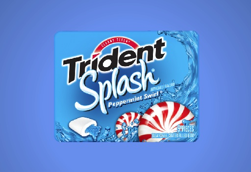 Trident Splash Peppermint Blast
