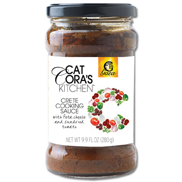Cat Cora's Feta and Sundried Tomato Crete Cooking Sauce