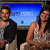 Happy Endings Interview Video With Adam Pally &amp; Casey Wilson