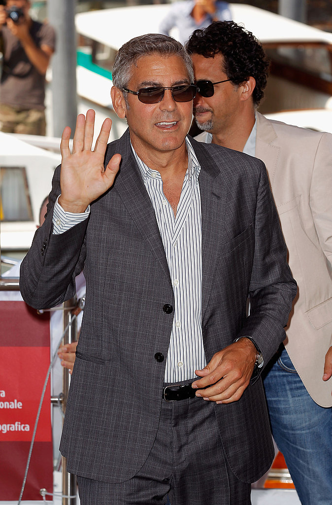 George Clooney at a The Ides of March photocall.
