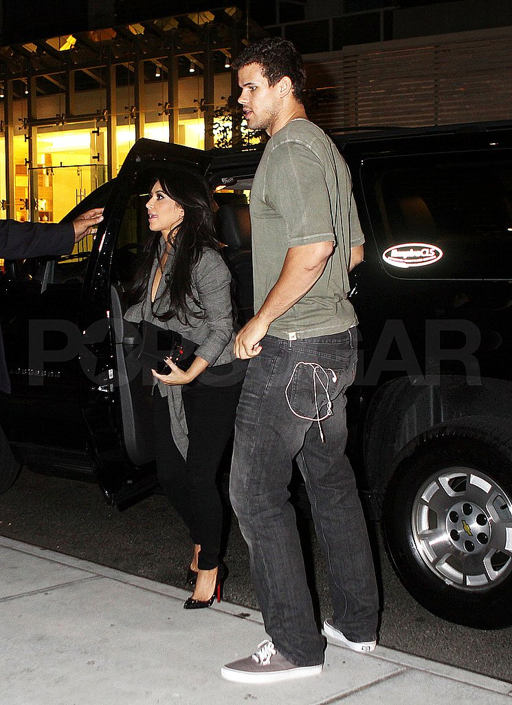 Kim Kardashian and Kris Humphries together in NYC.