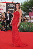 Cindy Crawford at the Venice Film Festival.