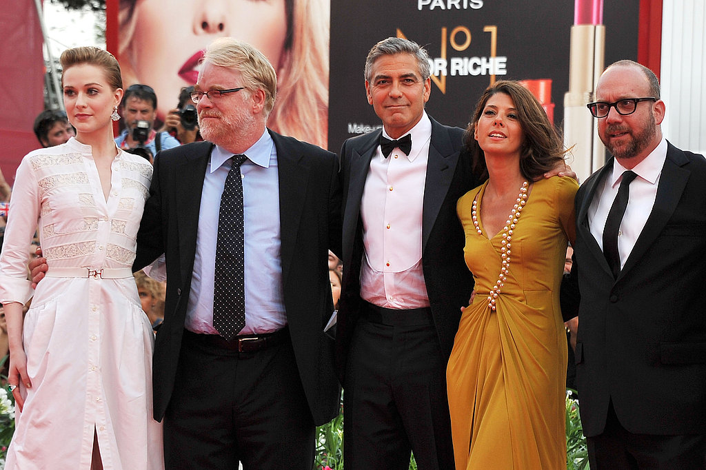 The Ides of March cast at the Venice Film Festival.