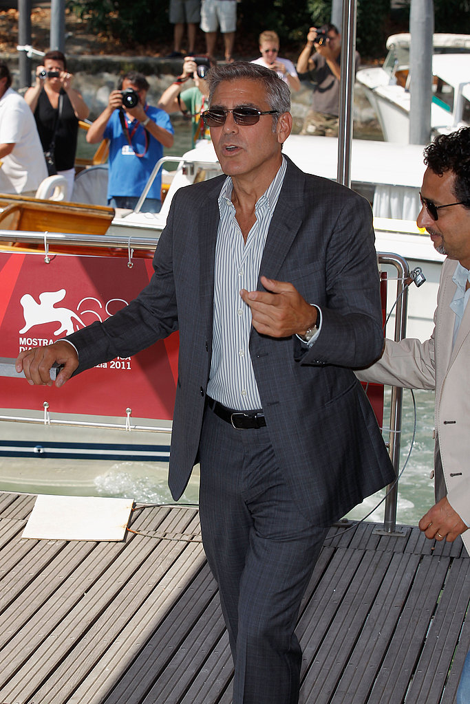 George Clooney Kicks Off a Star-Studded Venice Film Festival With His Ides of March Ladies