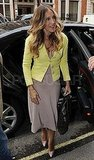 Sarah Jessica Parker Does a Bright Day of Press in London