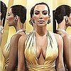 Kim Kardashian&#039;s Gold Fragrance Ad