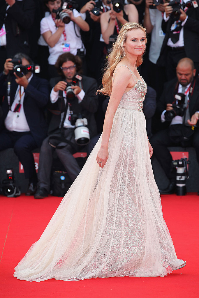All Angles: Diane Kruger Channels Fairy-Tale Glamour at the Venice Film Fest