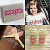 Creative Ideas to Display Baby's Name