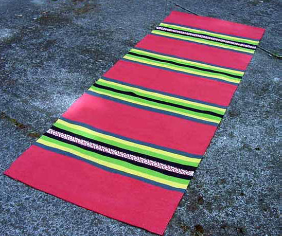 Cotton Yoga Rug