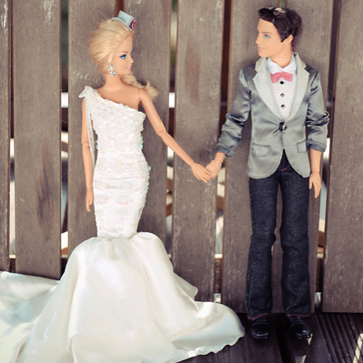 Barbie and Ken Wedding Pictures
