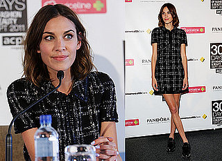 Alexa Chung Pictures at ACP 30 Days of Fashion and Beauty Press Conference in Sydney