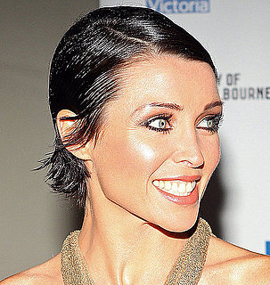 Australia's Got Talent host Dannii Minogue's Sleek, Wet-Look Hair at the Melbourne Spring Fashion Week