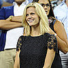 Brooklyn Decker Watching Andy Roddick at US Open Pictures