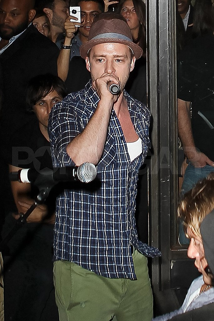 Justin Timberlake in NYC.