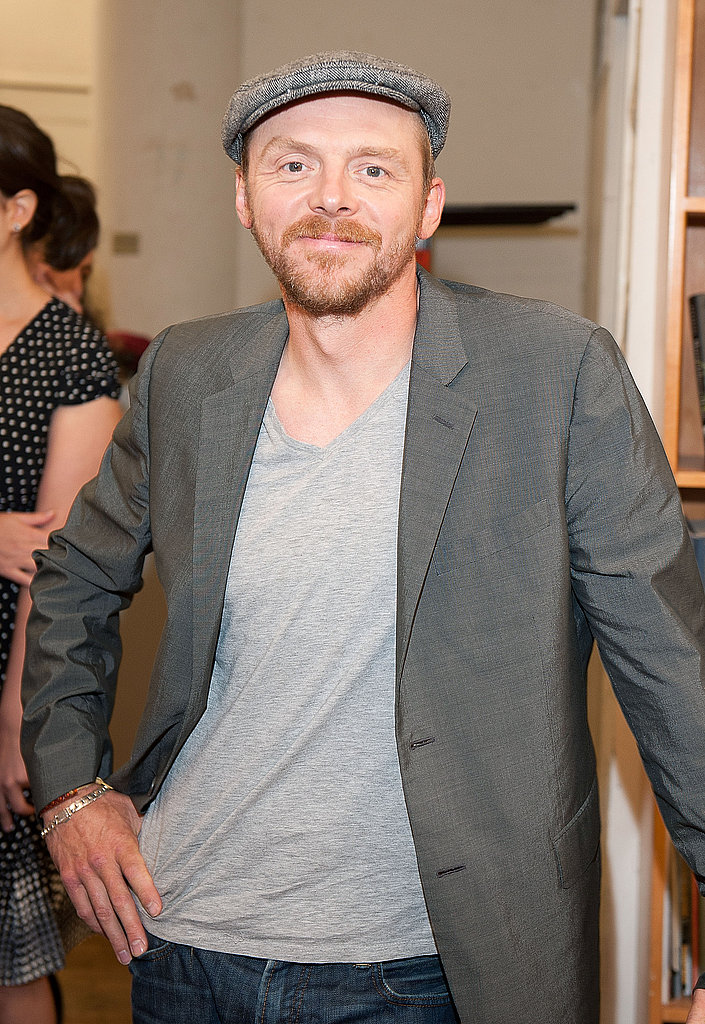 Simon Pegg's Star Wars Premiere Moment