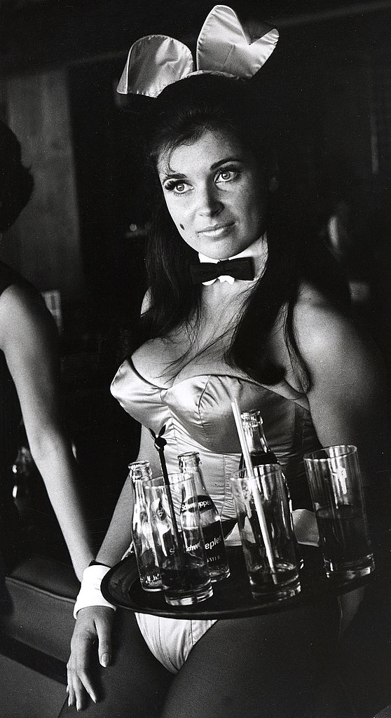A bunny poses at the London club in 1969.
