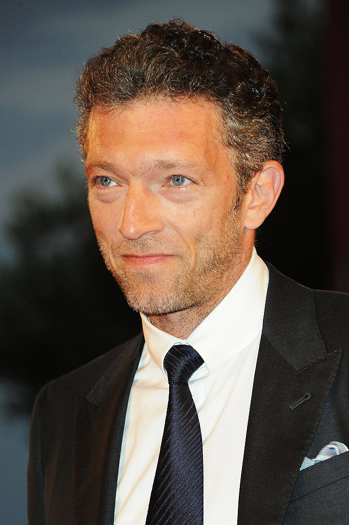 Vincent Cassel at a premiere during the Venice Film Festival.