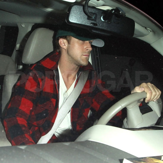 Ryan Gosling out in LA.