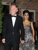 Salma Hayek and her husband, Francois-Henri Pinault, arrived in style.