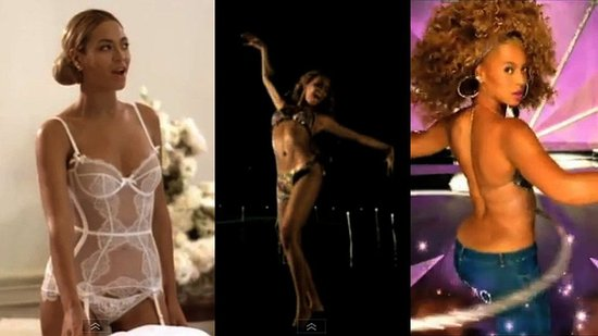 Birthday Girl Beyoncé's Sexiest Music Video Moments