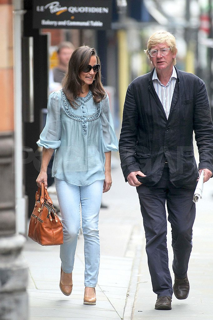 Pippa Middleton with a guy friend.