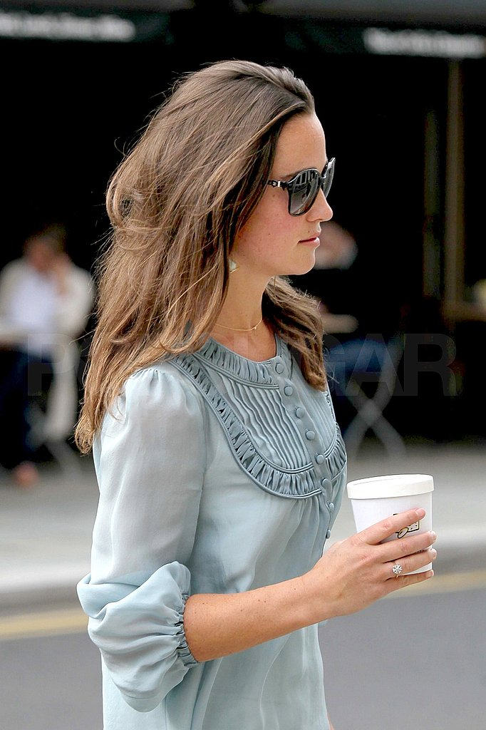 Pippa Middleton with soup.