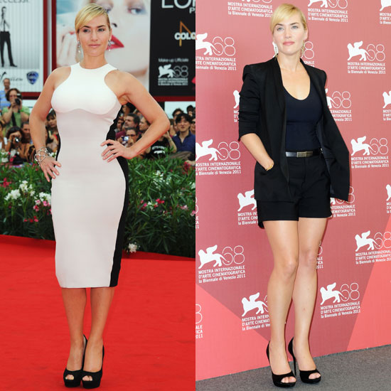 Kate Winslet Brings Back-to-Back Sexy Looks to the Venice Film Festival
