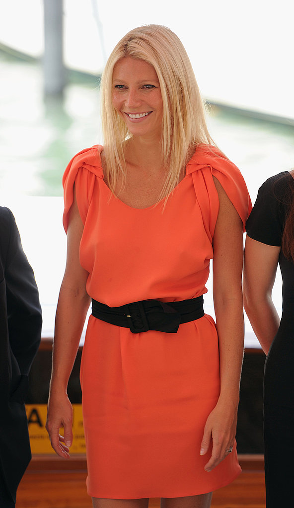Gwyneth Paltrow in Venice for Contagion.