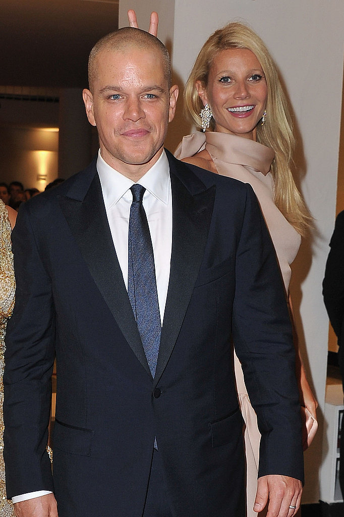 Matt Damon and Gwyneth Paltrow at the Venice Film Festival.