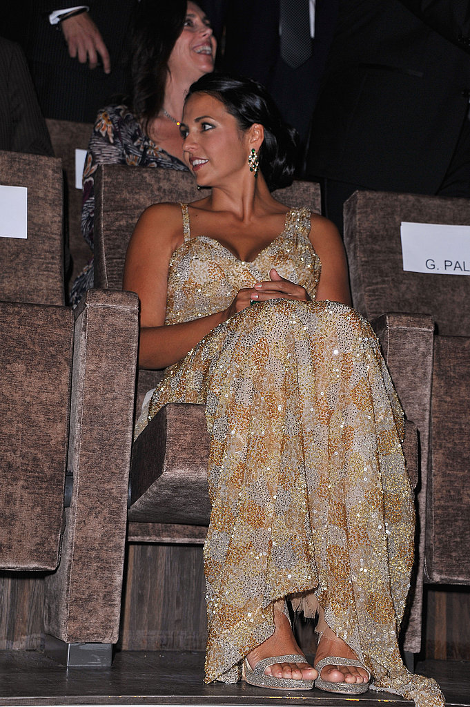 Luciana Damon at the screening of Contagion.