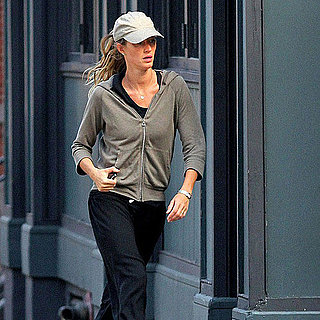 Gisele Bundchen Pictures Leaving the Boston Gym