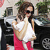 Victoria Beckham Pictures With Baby Harper Seven Beckham