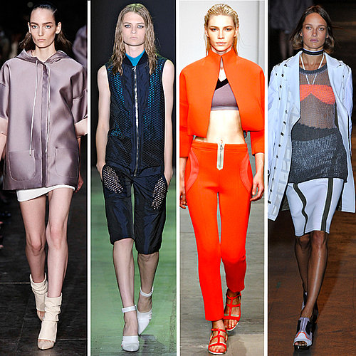 2012 Spring Summer New York Fashion Week Trend: Sporty Chic at Alexander Wang, Victoria Beckham and more!