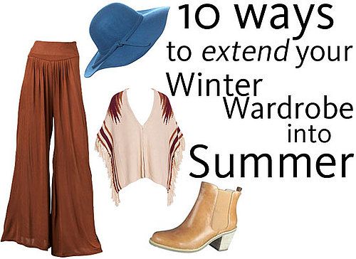 Closet Clean Out Time! The Ten Winter Pieces You Can Make Work for Summer, from Glue Store, Marcs, Sportsgirl, Dotti and more!