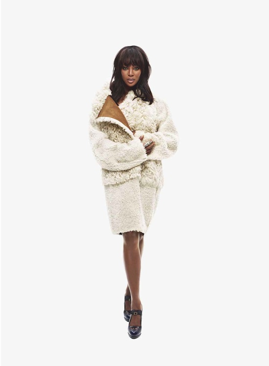 Naomi Campbell in Fendi
