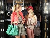 Blake Lively as Serena van der Woodsen and Kaylee DeFer as Charlie on Gossip Girl.  Photo courtesy of The CW