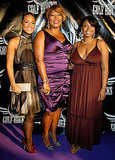 Alicia Keys, Queen Latifah, and Jennifer Hudson partied together during the 2008 festivities.