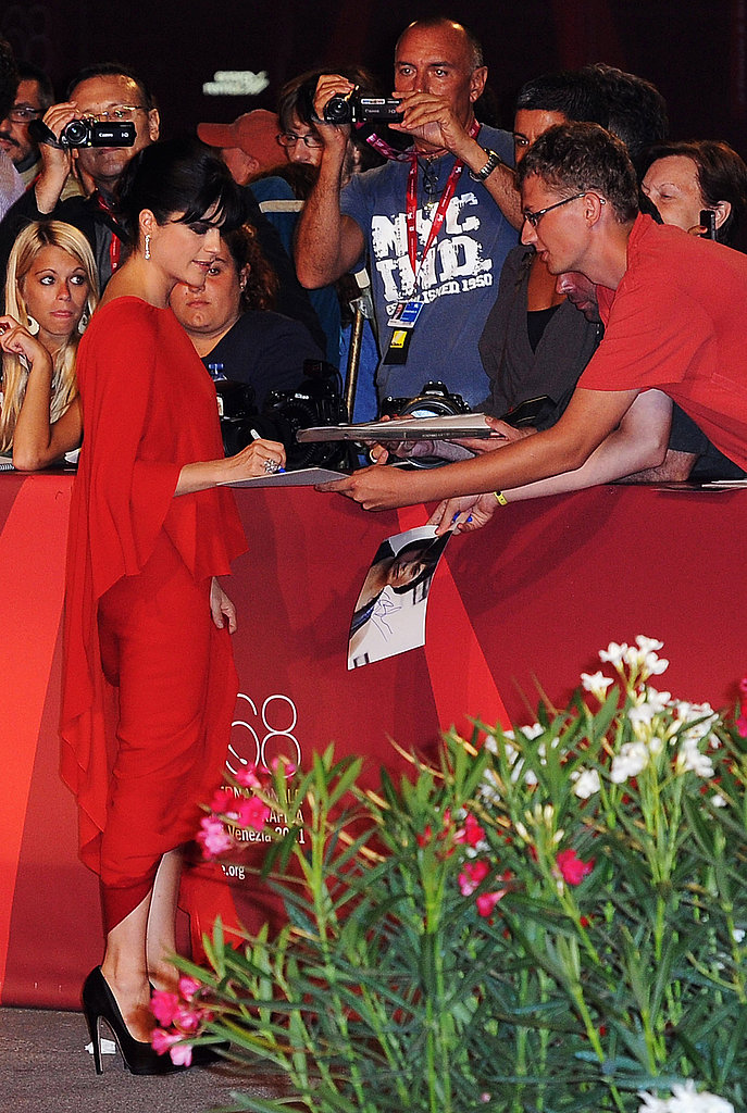 Selma Blair at the Venice Film Festival premiere of Dark Horse.