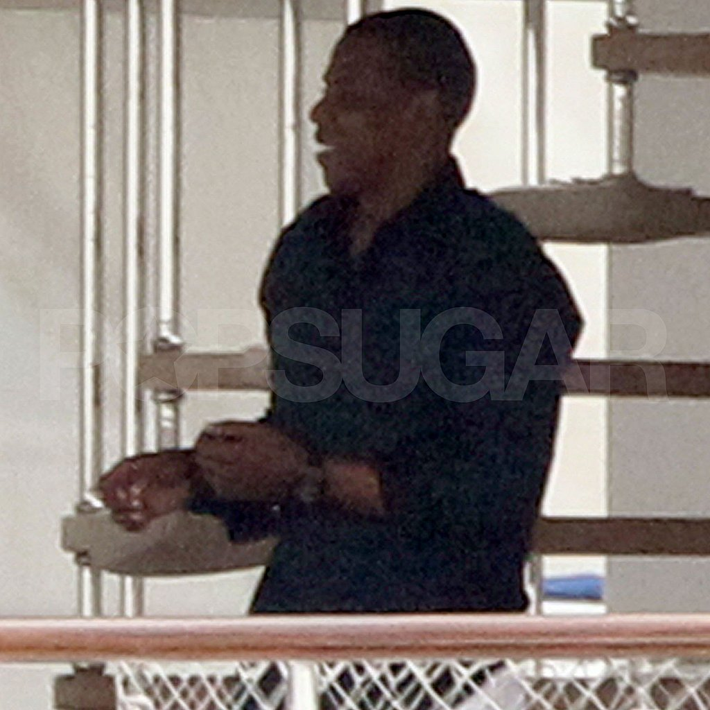 Jay-Z on a yacht.
