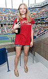 Amanda Seyfried with Moet & Chandon.