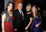Princess Eugenie, Roger Taylor, Sarina Potgieter, and Princess Beatrice together in London.