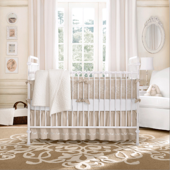 Nursery Design Tips From Restoration Hardware Catalog  POPSUGAR Moms