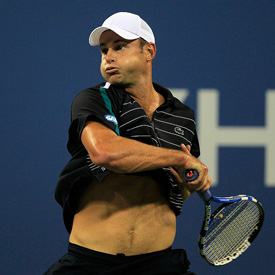Pictures of Hot Tennis Players at 2011 US Open Including Rafael Nadal, Novak Djokovic, Andy Roddick