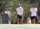 Jake Gyllenhaal in Runyon Canyon.