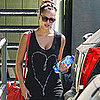 Jessica Alba Pictures Working Out After Baby
