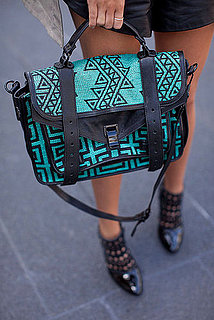 Spring 2012 New York Fashion Week Street Style: Bags