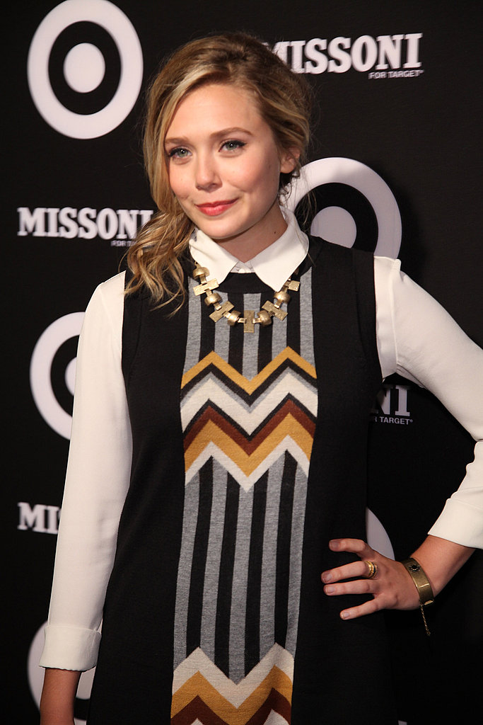Elizabeth Olsen hit the red carpet.